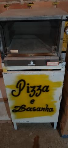 Forno pizza industrial