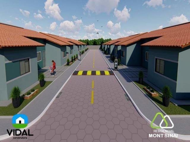 Casas no Residencial Mont Sinai com ITBI e Cartório Grátis!! - Foto 2
