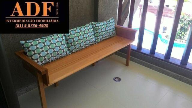 CA - Apartamento decorado e mobiliado no Oka Beach Residence - Foto 3