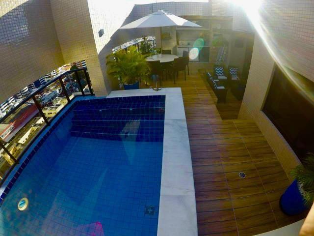 Cobertura Garden Alto Padrão, 172m2, 4 quartos sendo 3 suítes Lavabo e DCE - Foto 3