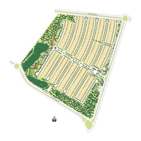 Terreno Belvedere II em frente a área verde