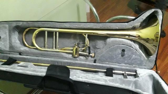 Trombone de vara com rotor