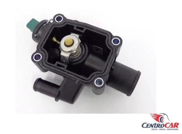 Carcaça Com Válvula Termostática Sensor Citroen C3 Xsara Peugeot 206 207 307 1.6 16v 2006. - Foto 3