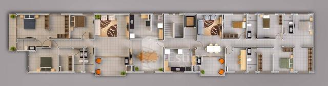 Apartamento 03 quartos (01 suíte) no Braga, São José dos Pinhais - Foto 14