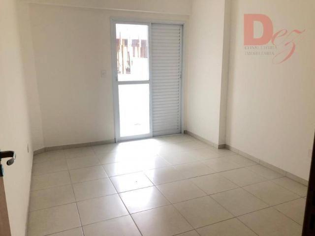 Apartamento com 2 dormitórios para alugar, 92 m² por r$ 2.200/mês - vila guilhermina - pra - Foto 15