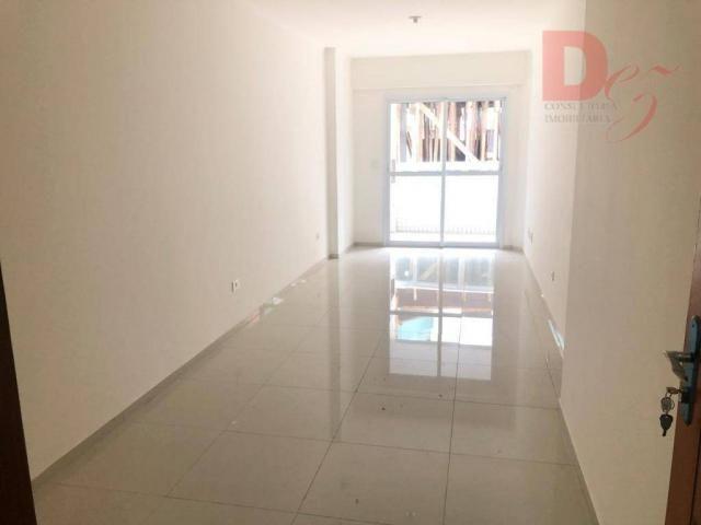 Apartamento com 2 dormitórios para alugar, 92 m² por r$ 2.200/mês - vila guilhermina - pra - Foto 2