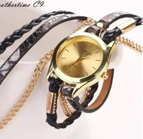 7d2b625a23c Lindos Relógio Pulseira Feminino Retrô Vintage