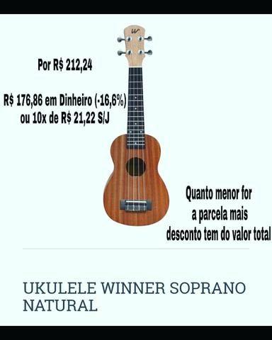 Compre seu ukulelê