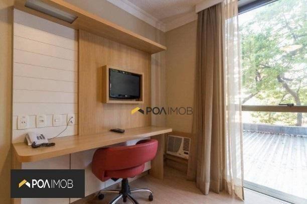 Apartamento mobiliado com 01 dormitório no Moinhos de Vento - Foto 7