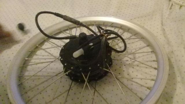 Kit elétrico para bike - Foto 5