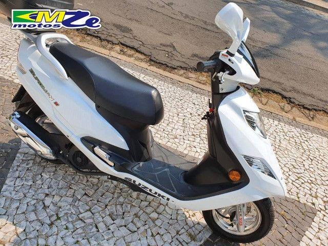 Suzuki Burgman I 125 2019 Branca com 800 km - Foto 8