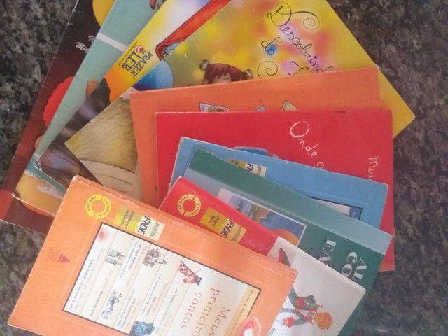 Livros didáticos para alfabetização e leitura