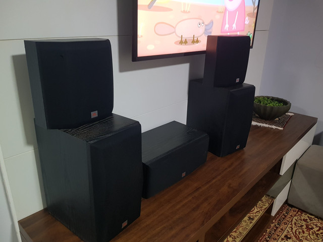 Caixas jbl Northridge JBL cinema
