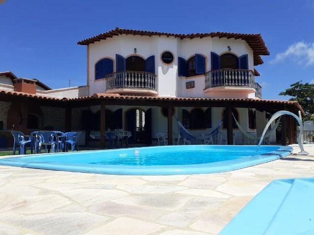 Casa Frente praia-Piscina Cond. fechado. Local Privilegiado - Praia Linda-4 qtos suites - Foto 4