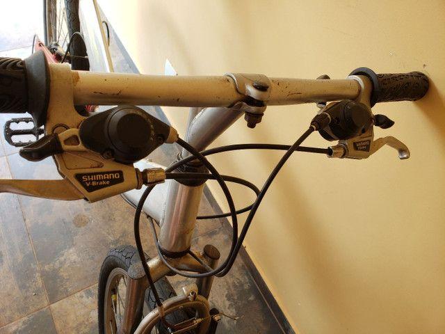 Bike montada aro 26 - Foto 4