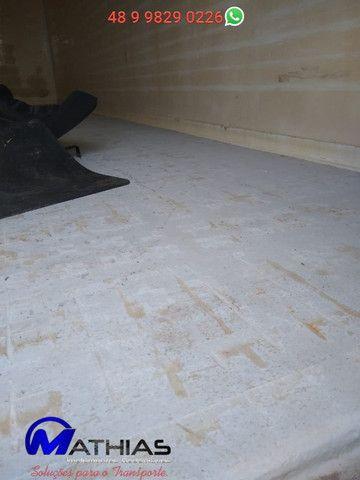 Baú frigorifico 14 paletes Peixeiro Comp 7.50m Mathias Implementos - Foto 5