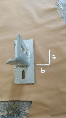 Mão francesa reforçada. Mezanino loft ferro cobertura - Foto 3