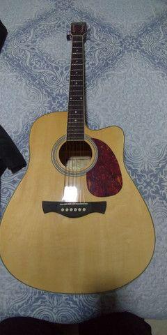 Vendo violão elétrico - Foto 4