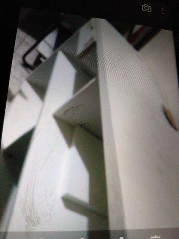 Vendo. Chapa+ prensa +fritadeira e coifa  3 balcões de mdf - Foto 6