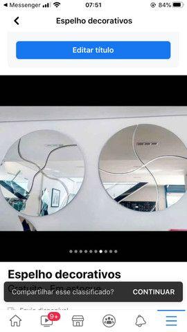 Espelhos p/ decoração - Foto 2