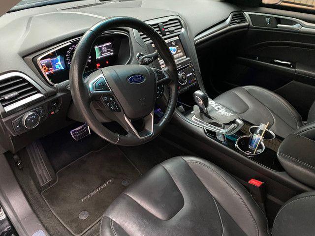 Ford Fusion Titanium AWD 2016 Blindado Inbra - Oportunidade! - Foto 4