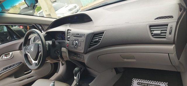 Honda Civic LXL 1.8 Flex AT, ano/modelo 2012/2012, completo - Foto 4