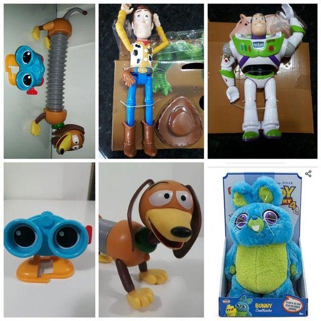 Woody ou Buzz ou coelho ou cão ou robô toy story mattel novos