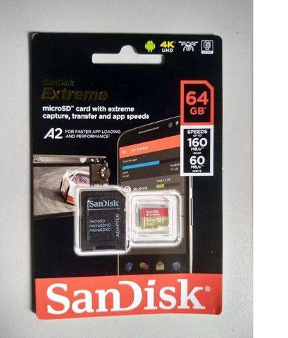 Cartão de Memória Extreme 64GB - Foto 2