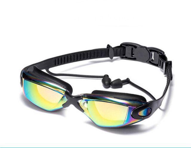 Óculos De natação Profissional com tampões de ouvido e Nariz - Foto 4