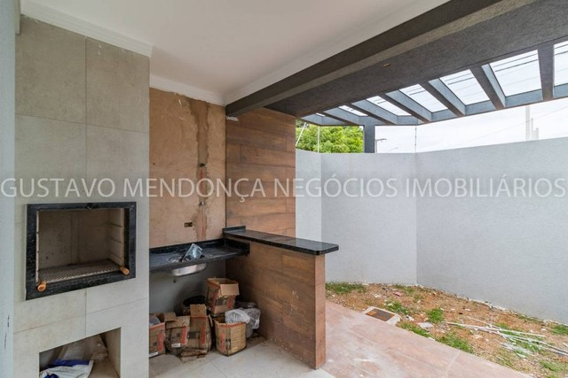 Linda casa nova no bairro Rita Vieira 1 - Alto padrão de acabamento e em excelente localiz - Foto 2