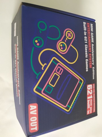 video game console novo completo mini super classic 621 jogos memoria 8bits - Foto 4