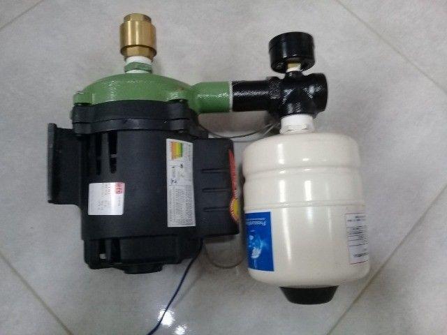 Bomba Dàgua Schneider Com Pressurizador 2 Litros Semi Nova - Foto 3