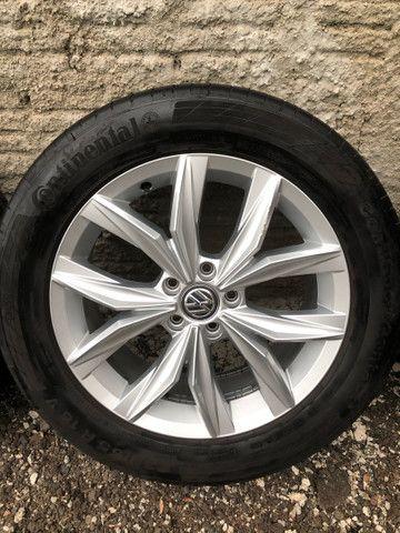 Jogo de rodas Tiguan VW 5 furos aro 18 - Foto 5