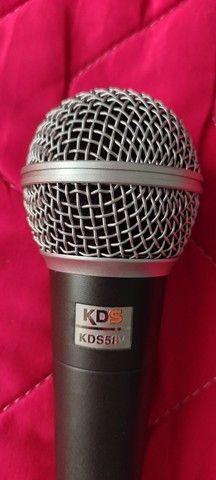 Microfone c/ cabo - Foto 2