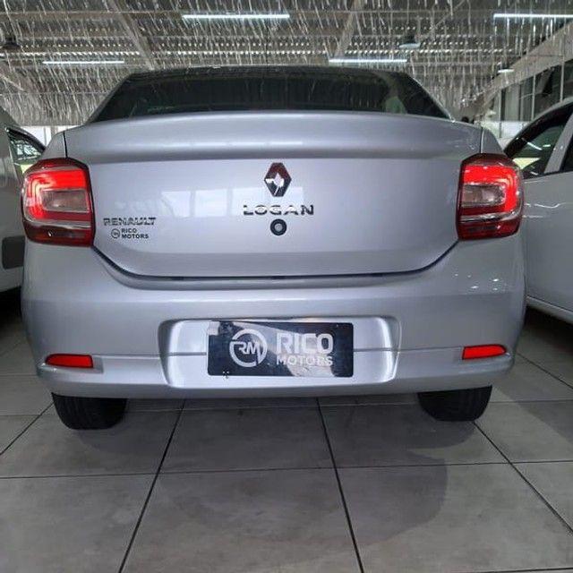 Renault Logan Life 1.0 2020 Flex - Foto 9