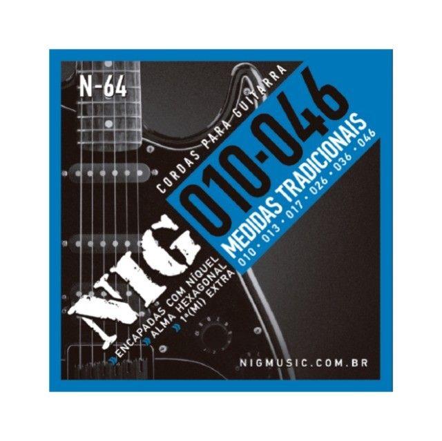 Cordas p/guitarra 010