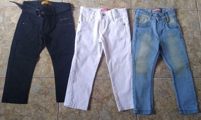 Calças jeans infantil - Foto 3