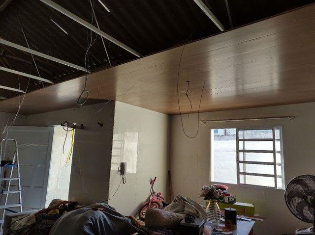 Forro PVC já instalado  - Foto 4