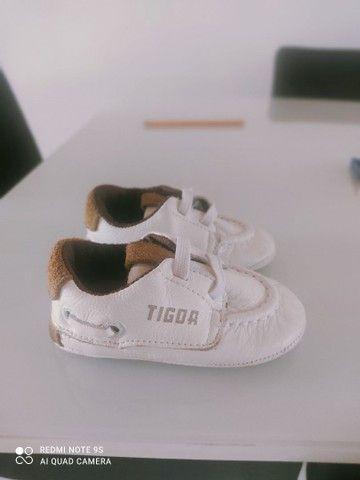 Sapatinho Tigor baby tamanho18 - Foto 2