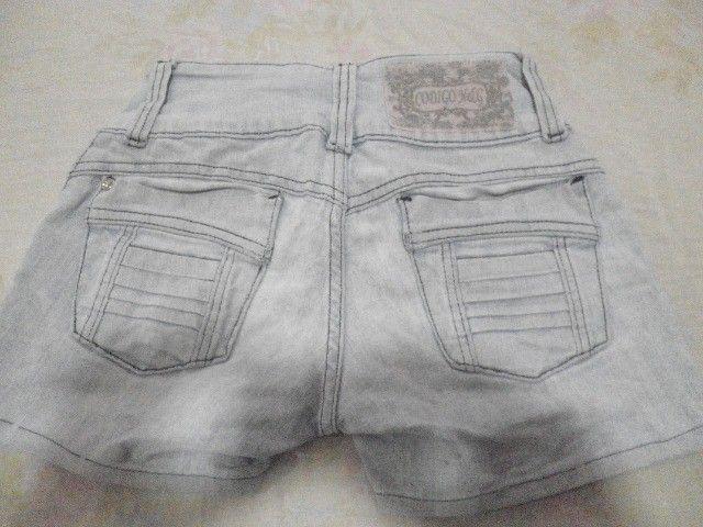 Short Jeans - Tamanho 34 - Foto 2