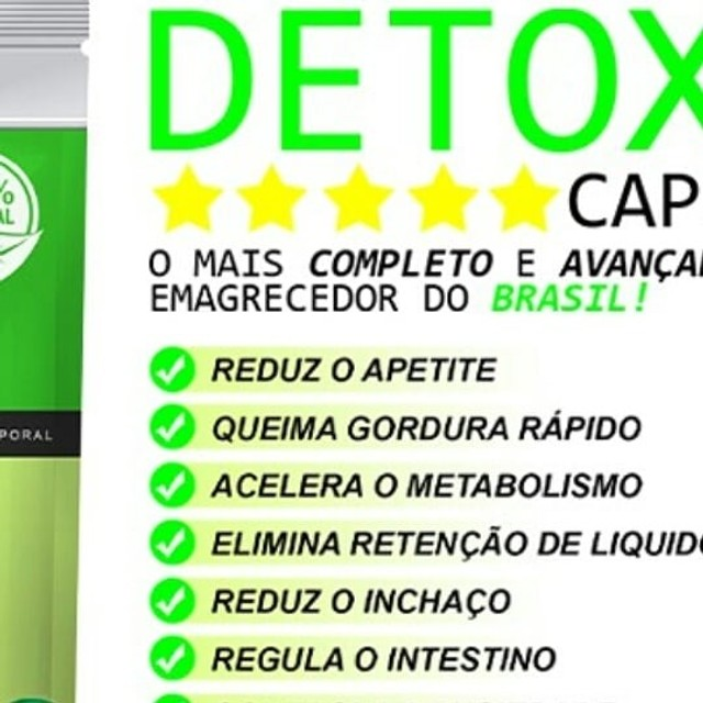 Detox caps 100 % natural - Foto 5