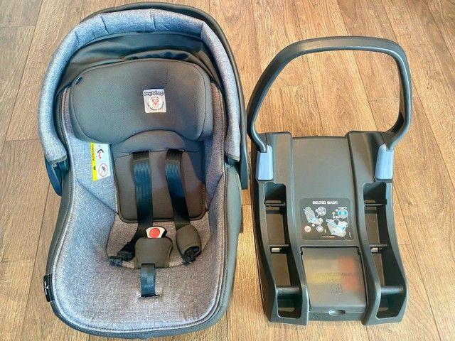 Conjunto Peg-Pérego Book 51: Carrinho, Bebê Conforto com a Base para veículo - Foto 2