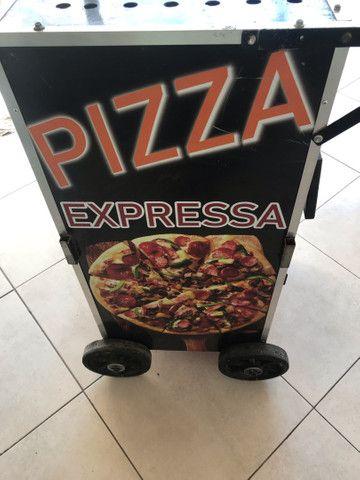 Carrinho de pizza  - Foto 4