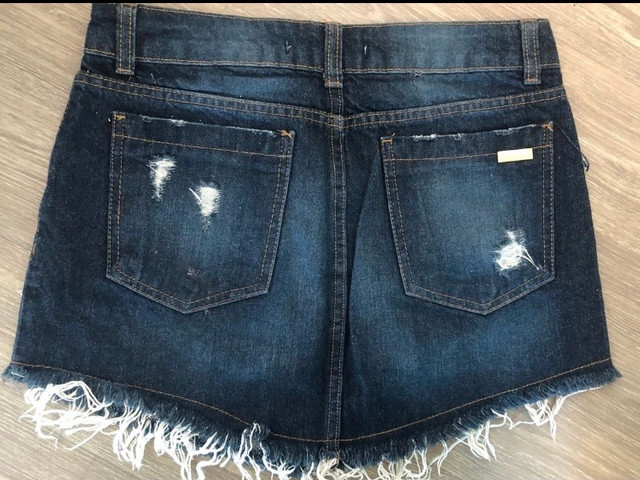 Saia jeans destroyed - Foto 2