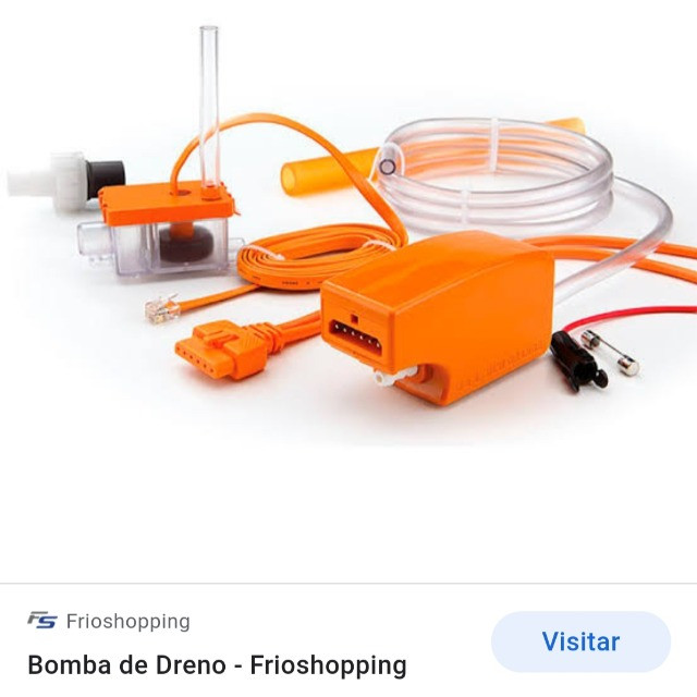 Bomba para ar condicionado
