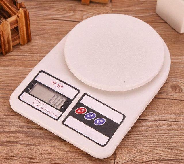 Balança Digital Cozinha 10kg Alta Precisão Alimento Dieta - Foto 5
