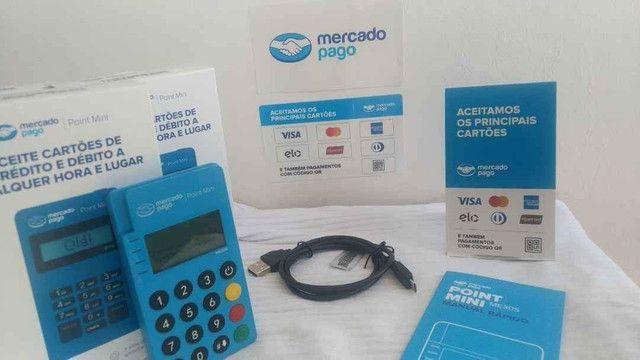 Máquina de Cartão - Maquininha Mercado Pago - Foto 3