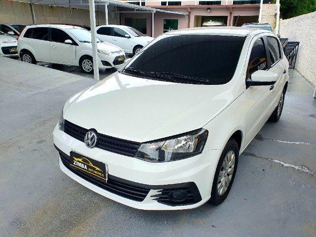 VW- Volkswagen Gol 1.0 12v Total Flex 5p Ano 2019 - Foto 2