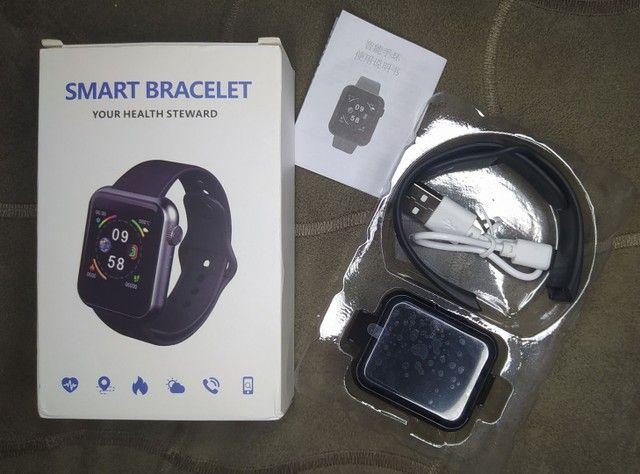 Relógio smartwatch V6 - Foto 3