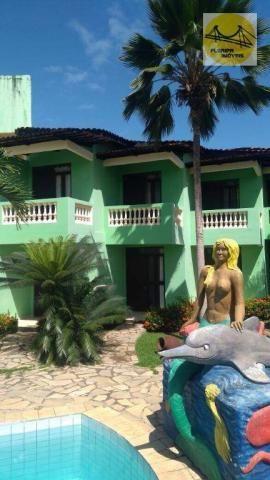 Pousada no Nordeste, praia do Conde, Paraíba.